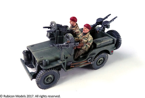 Willys MB Jeep 1/4 ton 4x4 Truck (Commonwealth)  (1:56th scale / 28mm)