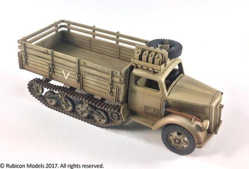 SdKfz 3a Maultier 2 ton Half-Track Cargo Truck(1:56th scale / 28mm)