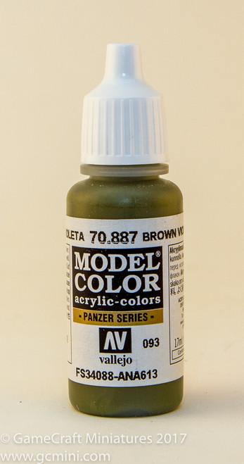 Vallejo Model Color: Olive Drab / Brown Violet