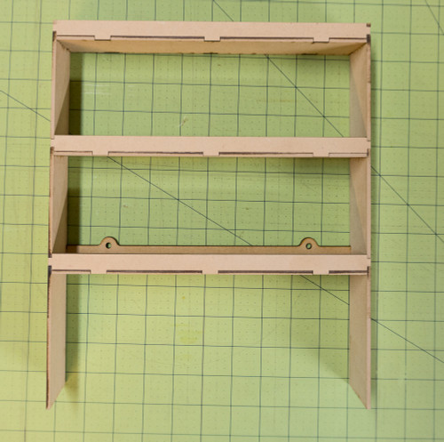 """Hanging Shelf Unit (10"""" Wide - 3 Shelves)"""