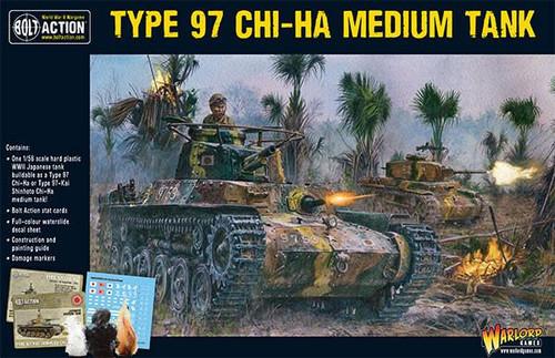 Bolt Action: Japanese Chi-Ha Japanese tank