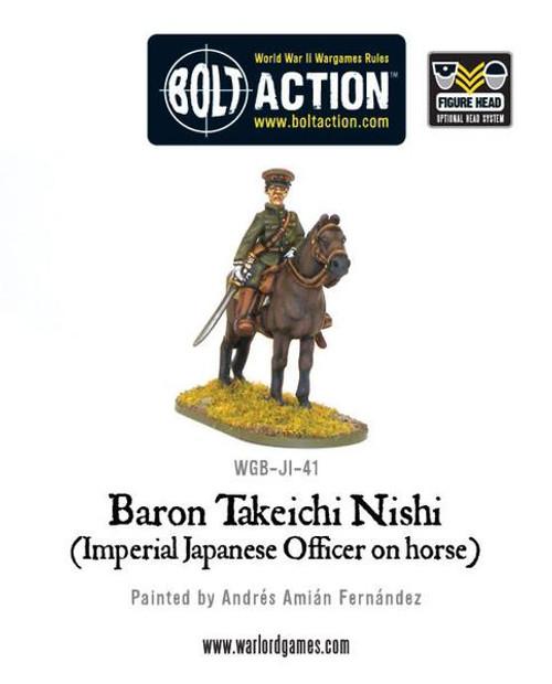 Bolt Action: Baron Nishi (Imperial Japanese officer on horse)