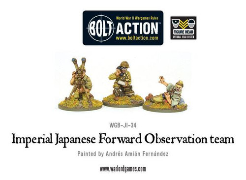Bolt Action: Imperial Japanese Forward Observation Team