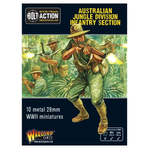 Bolt Action: Australian Jungle Division Infantry Section