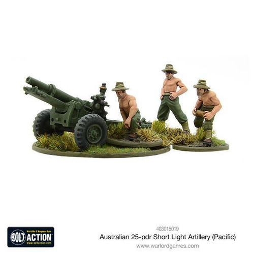 Bolt Action: Australian Short 25-pdr