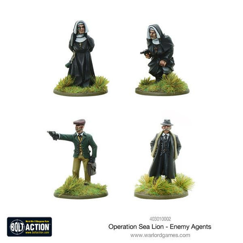 Bolt Action: Operation Sea Lion Enemy Agents