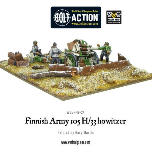 Bolt Action: Finnish 105mm Howitzer