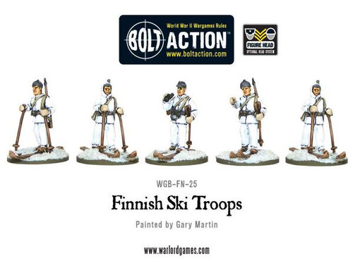 Bolt Action: Finnish Ski Troops