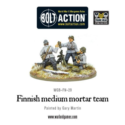Bolt Action: Finnish medium mortar team