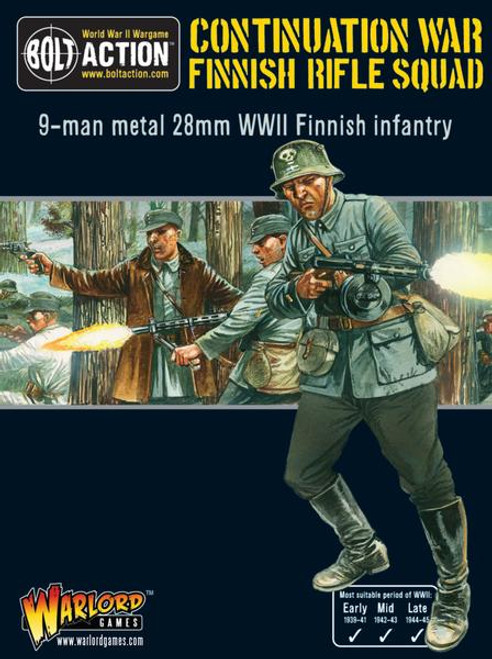 Bolt Action: Finnish Rifle Squad