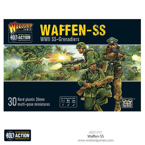 Bolt Action: Waffen SS (Plastic Box)
