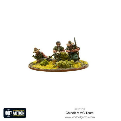 Bolt Action: Chindit MMG team