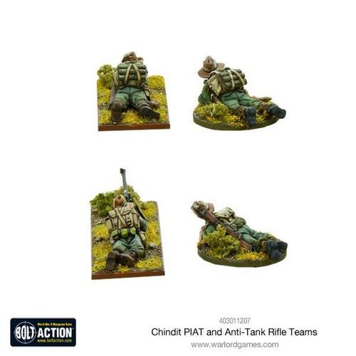 Bolt Action: Chindit PIAT and anti-tank rifle teams