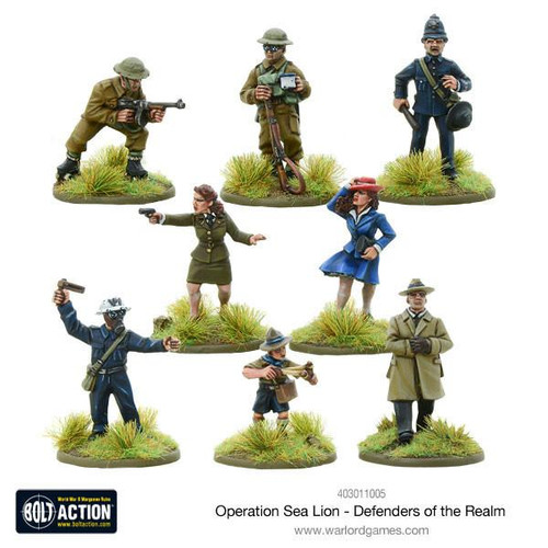 Bolt Action: Operation Sea Lion Defenders of The Realm
