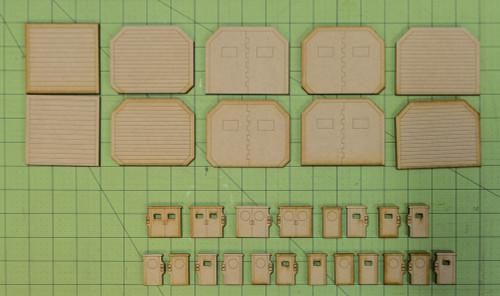 Lots Of 20mm Sci-Fi  Doors - 20MMDF403