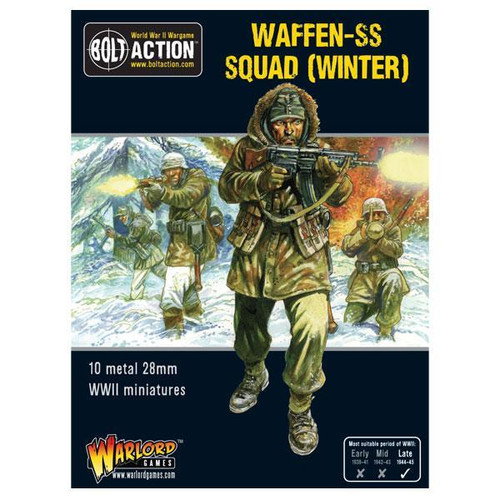 Bolt Action: Winter SS Squad