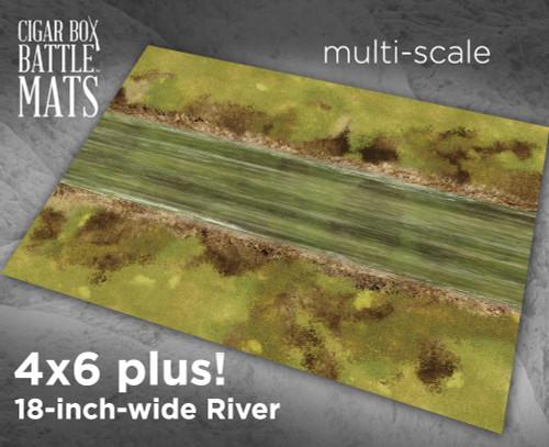"""Battle Mat - River 18"""" Wide"""