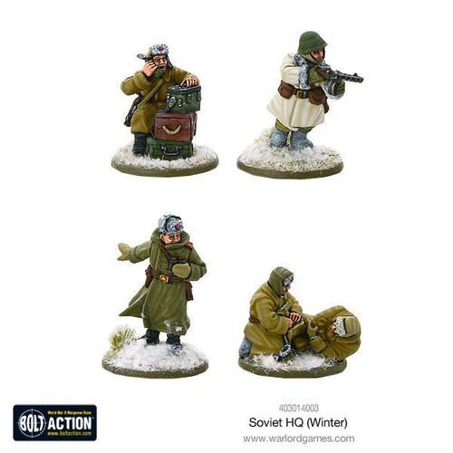 Bolt Action: Soviet HQ (Winter)