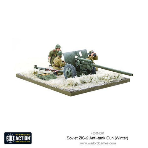 Bolt Action: Soviet ZIS-2 anti-tank gun (Winter)