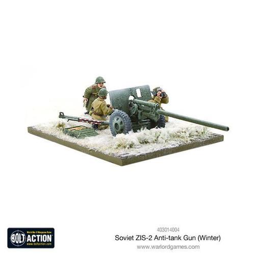 Bolt Action: Soviet ZIS-2 anti-tank gun (Winter)