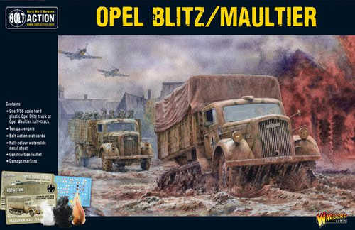 Bolt Action: Opal Blitz/Maultier