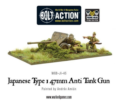 Bolt Action: Japanese Type 1, 47mm Anti Tank Gun