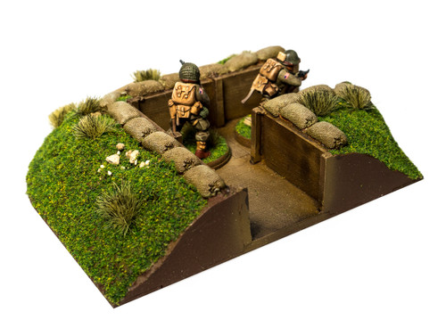 90 Degree Corner Trench Section (28mm Scale)