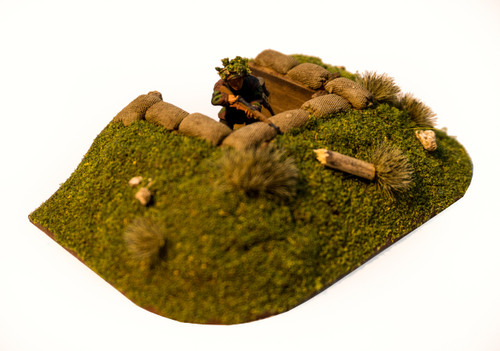 End Trench Section (28mm Scale)