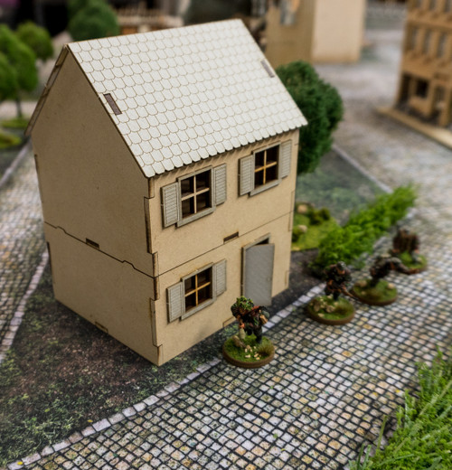 28mm Small Country Home, 2 Story - 28MMDF553
