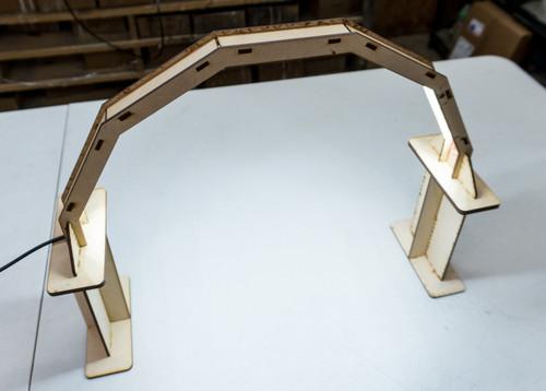 """6"""" Riser for LED Workbench Light"""