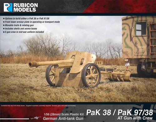 PaK 38 / PaK 97/38 AT Gun with Crew