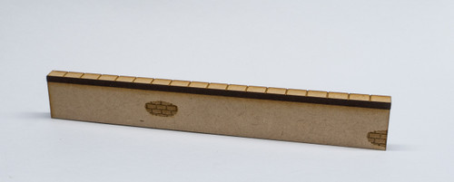 "28mm Scale Wall Section - 6"" long - 28MMDF570"