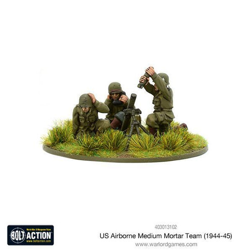 Bolt Action: US Airborne Medium Mortar team (1944-45)