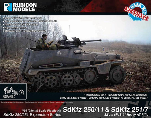 SdKfz 250/251 Expansion Set- SdKfz 250/11 & 251/7 sPzB 41 AT Rifle