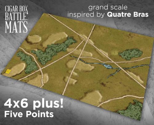 Battle Mat - Five Points
