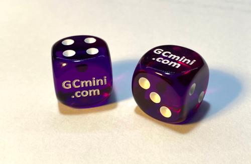 GCmini Dice (2/Pack)