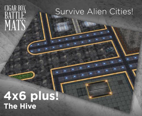 Battle Mat - The Hive