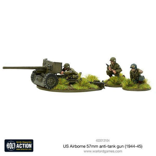 Bolt Action: US Airborne 57mm anti-tank gun (1944-45)