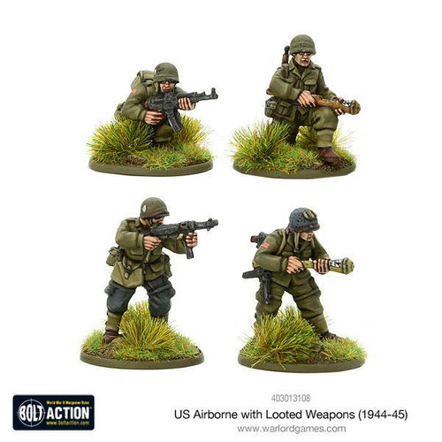 Bolt Action: US Airborne with looted German weapons (1944-45)