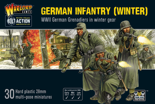 Bolt Action: Germans Infantry, Winter