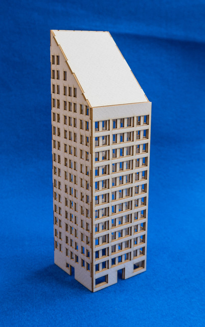 6mm Modern / Future City Building - 285CSS072