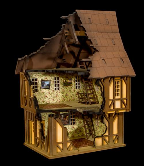 28mm Tudor House - 28MMDF620