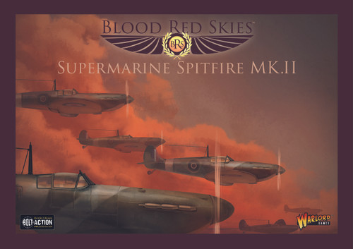 Blood Red Skies: British Spitfire Squadron