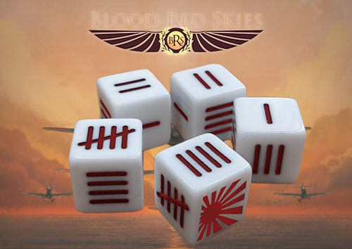 Blood Red Skies: Japanese Blood Red Skies Dice