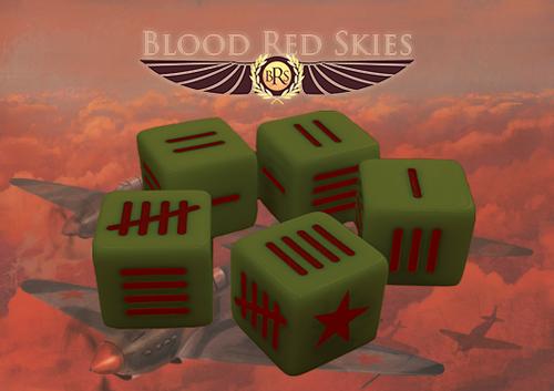 Blood Red Skies: Soviet Blood Red Skies Dice
