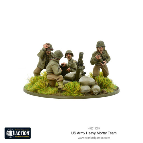 Bolt Action: US Army Heavy Mortar Team