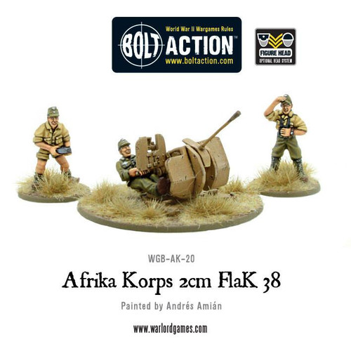 Bolt Action: Africa Korps 2cm Flak 38