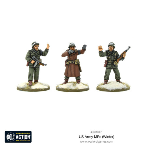 Bolt Action: US Army MPs (Winter)