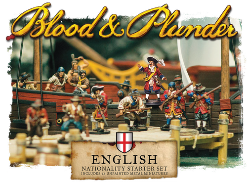 Blood and Plunder: English Nationality Starter Set