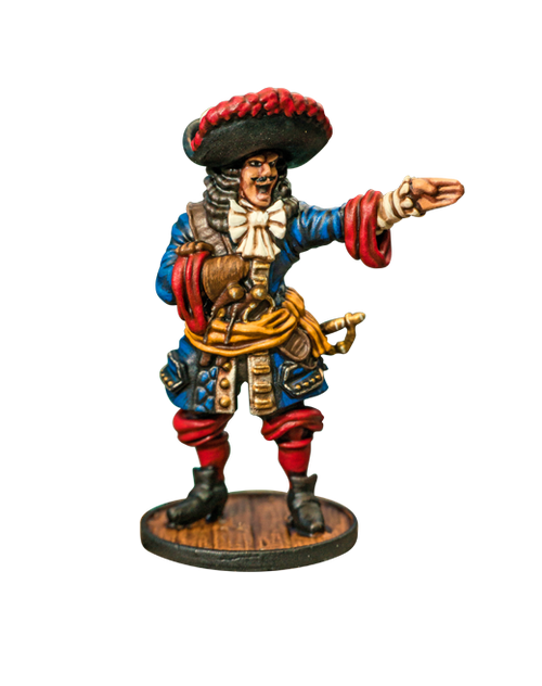 Blood and Plunder: French Buccaneer Commander